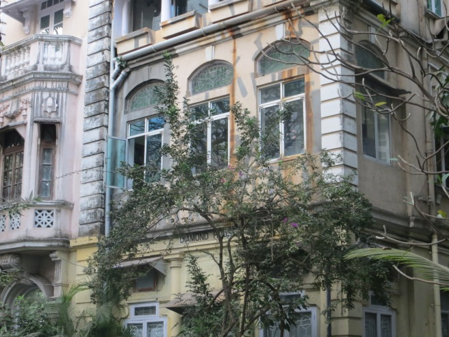 Laburnam Rd in Mumbai, near the Gandhi museum