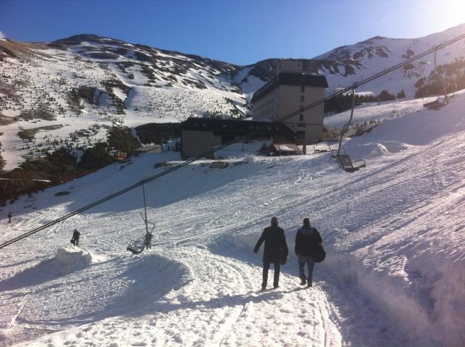 Snow in Brezovica