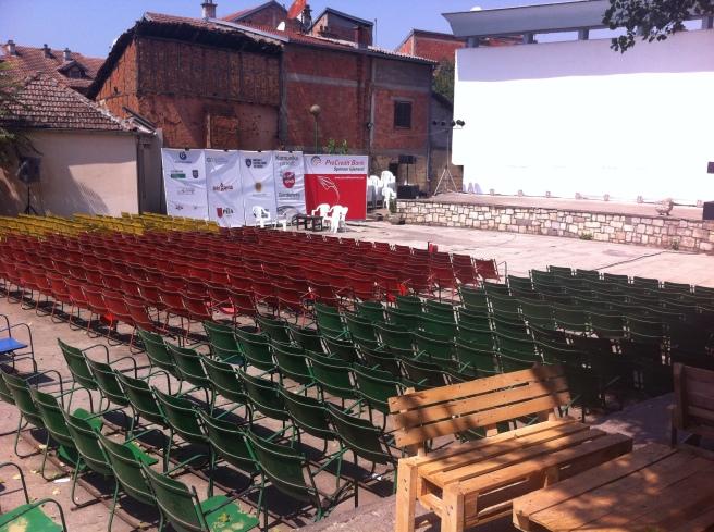 Kino lumbarghi in Prizren